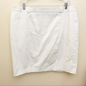 NWT Talbots Tan / Khaki Casual Straight Skirt